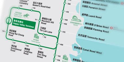 Hong Kong Subway Map Download.Hong Kong Tramways Plan Your Ride